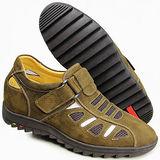 GOG高哥隱形增高鞋夏冬系列912117大孔涼鞋增高6.0cm(2013-11)