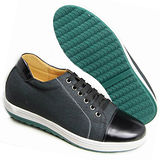 GOG高哥隱形增高鞋休閑系列712855印花潮流板鞋增高6.0cm(2013-11)