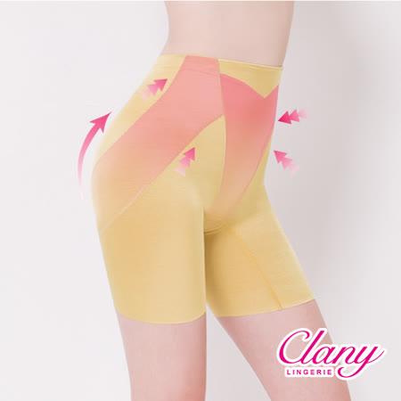 【可蘭霓Clany】高腰素面無痕M-2XL提臀褲 春漾膚 1906-11