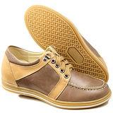 GOG高哥隱形增高鞋休閑系列212423相拼牛筋板鞋增高6.0cm(2013-11)