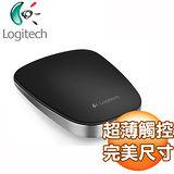 Logitech羅技 T630 超薄觸控滑鼠《黑》