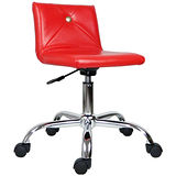 HAPPYHOME DIY仙杜拉造型鐵腳辦公椅DJ-319S