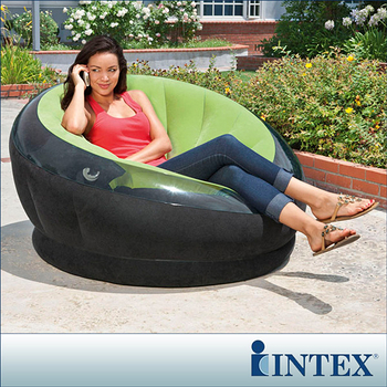 【INTEX】星球椅充氣沙發椅-3色隨機出貨