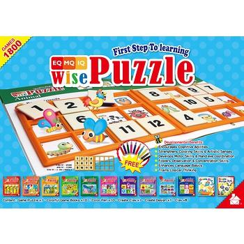 【學齡國際】 WisePuzzle 聰明拼圖組 學習組