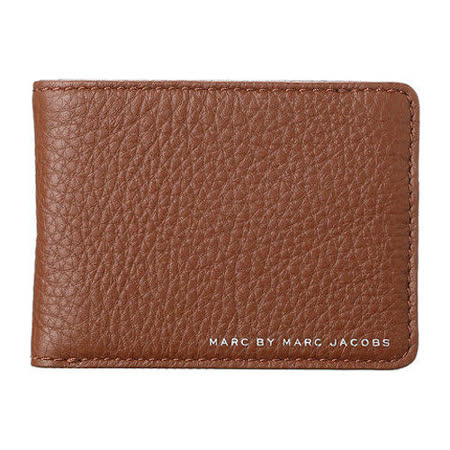 Marc Jacobs 2014經典LOGO棕色魅力皮夾【預購】