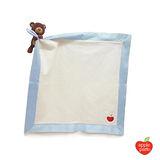 美國【Apple Park】有機棉玩偶隨身毯 - 小熊