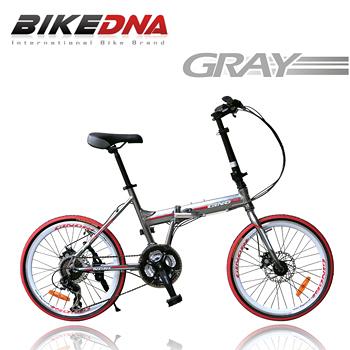 【BIKEDNA】GX7 20吋24速 451輪組 鋁合金 SHIMANO變速摺疊車