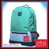 Manhattan Portage 曼哈頓 紐約品牌 三重撞色M字後背包 綠色 MP1214-TRIPLE-GR
