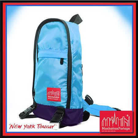 Manhattan Portage 曼哈頓 紐約品牌 CORDURA®Lite 輕量帆布 單肩後背包 藍色 MP1918-CDL-STG-BL
