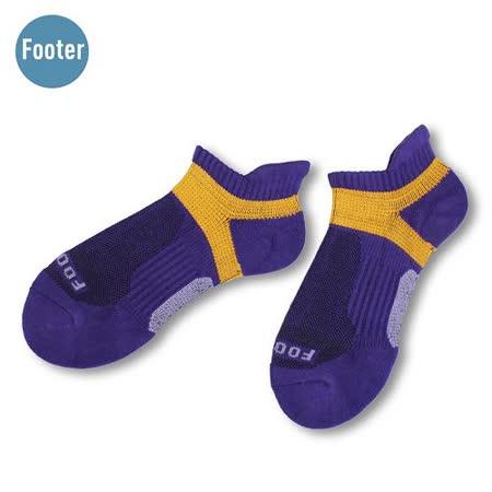 (任選)Footer健康除臭襪_FUNCTION男款輕壓力足弓除臭襪(T92L-紫)