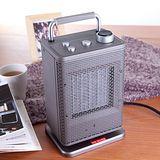 唐姆笙陶瓷金屬殼電暖器(銀灰色)TH-1029S