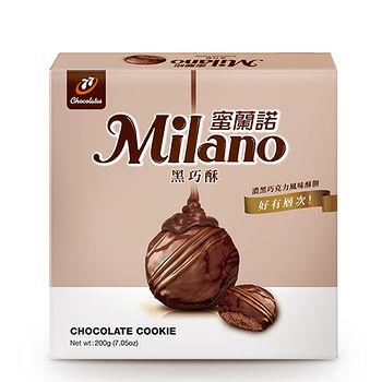 蜜蘭諾黑巧酥200g