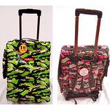 『J.D. PET寵物精品』- 防水迷彩拉桿寵物箱推車背包兩用~兩種顏色