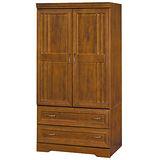 HAPPYHOME 楓芝林3x7尺樟木實木衣櫥121-3