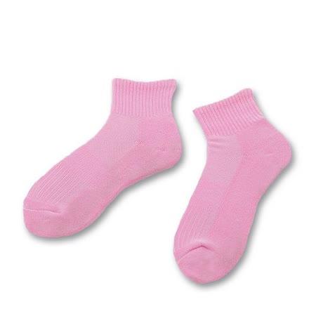 (任選)Footer健康除臭襪_KIDS兒童單色兒童除臭襪(F83-粉紅)