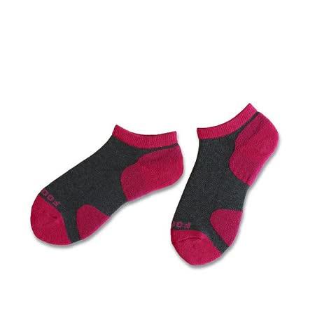 (任選)Footer健康除臭襪_KIDS兒童運動除臭短襪(T85-紅)