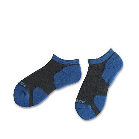(任選)Footer健康除臭襪_KIDS兒童運動除臭短襪(T85-藍)
