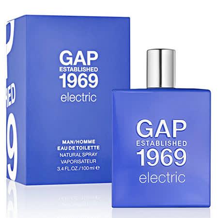 GAP 1969 酷炫男性淡香水限量版(100ml)送經典晴雨兩用傘