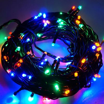 台灣製8尺(240cm)特級白色松針葉聖誕樹 (紅金色系)+100燈LED燈4串(附控制器跳機)