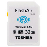 TOSHIBA FlashAir 32GB SDHC Class10 無線傳輸記憶卡(平輸) 加送平板套