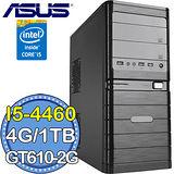 華碩H81平台【會心一擊】Intel第四代i5四核 GT610-2G獨顯 1TB燒錄電腦