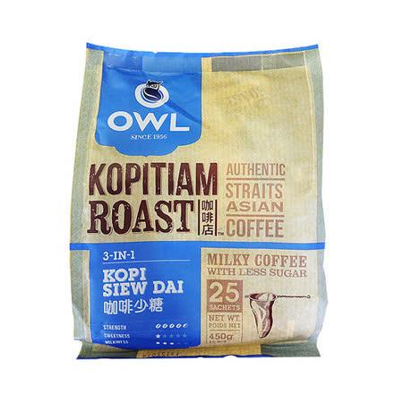 ★即期良品5折★【貓頭鷹】 三合一炭烤咖啡-450g  2袋入組