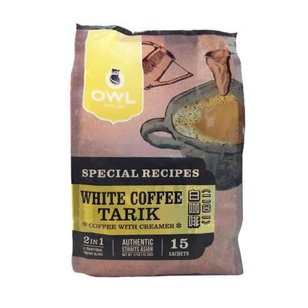 【貓頭鷹】 二合一拉白咖啡-375g/袋