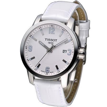 天梭 TISSOT PRC-200 200M 防水時尚腕錶 T0554101601700