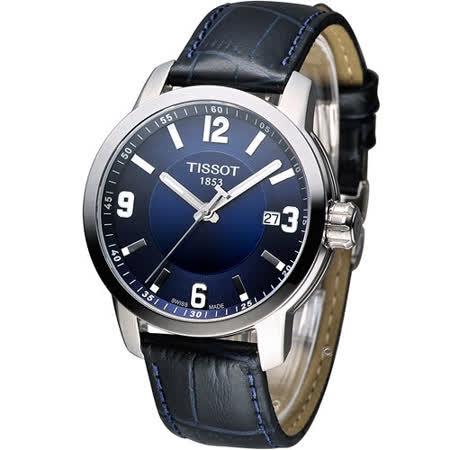 TISSOT PRC-200 防水時尚紳士錶 T0554101604700
