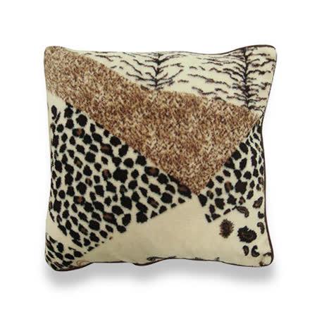 《范登伯格》 晴鑽時尚蓬鬆抱枕 50x50cm (棕色)