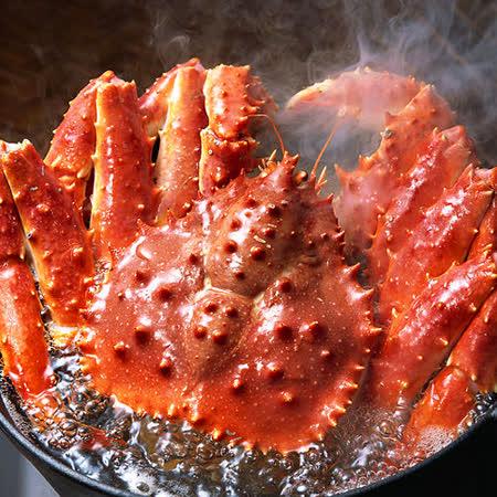 【買一送一】冷凍帝王蟹1隻(0.8~1Kg/隻 買一送一共2隻)