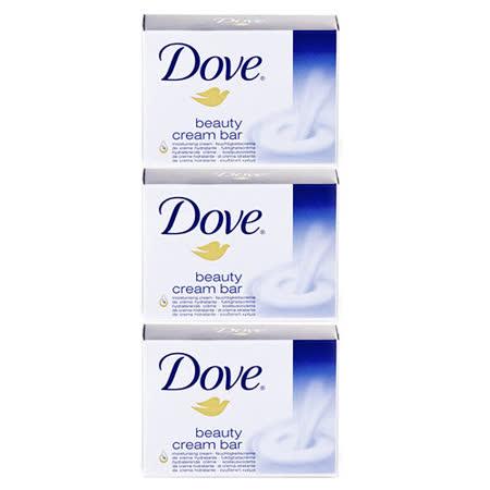 德國DOVE乳霜潔膚香皂【藍色】135gx3入