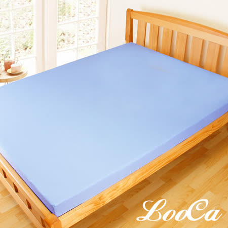 【LooCa】防螨抗菌高透氣11cm釋壓記憶床墊(單人)