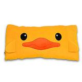 【造型布偶】黃色小鴨長條造型抱枕