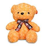 【造型布偶】15吋絨毛-玫瑰熊(奶茶色)