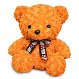 【造型布偶】15吋絨毛-玫瑰熊(焦糖色)