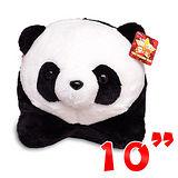 【造型布偶】10吋絨毛-熊貓圓仔
