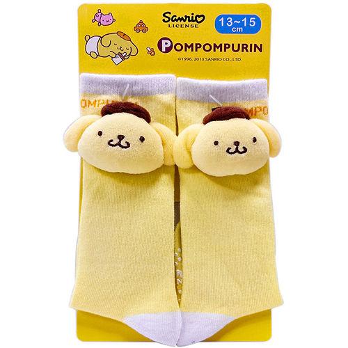 【BabyTiger虎兒寶】三麗鷗布丁狗立體中筒襪
