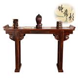 【塘荷影】綣雲玄關桌/書桌
