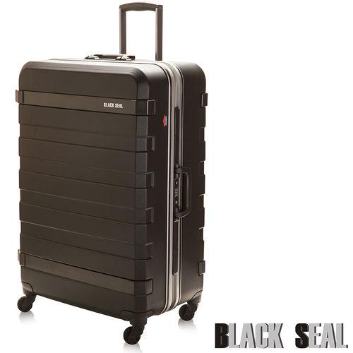 BLACK SEAL 霧面鑽石紋鋁框系列28吋防刮防撞行李箱美麗 華 百貨 公司-鑽石黑BS25228-02