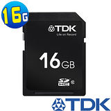 TDK 16GB SDHC Class10 高速記憶卡