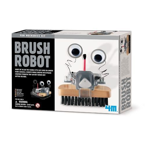 【4M】Brush Robot毛刷怪機器人