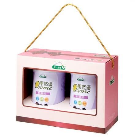 [統一生機]果然優雙蜜禮盒(蜜棗乾400g*2)