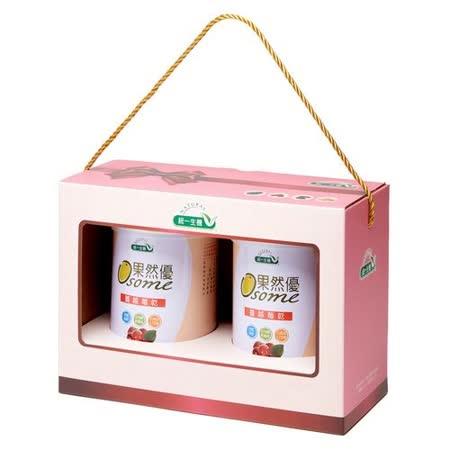 [統一生機]果然優雙蔓禮盒(蔓越莓乾360g/罐*2)