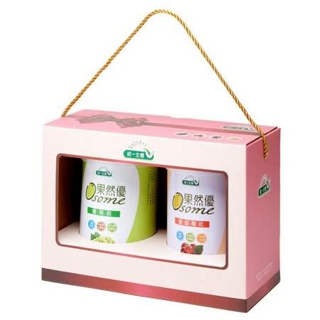 [統一生機]果然優葡蔓禮盒(葡萄乾400g+蔓越莓乾360g)