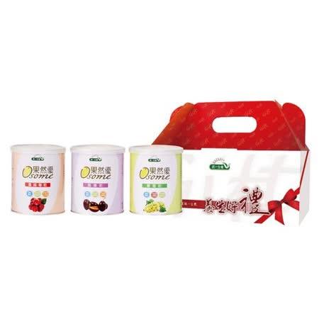 [統一生機]悠活果乾禮盒(葡萄乾400g+蜜棗乾400g+蔓越莓乾360g)