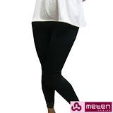 【METEN】女舒適保暖內刷毛蕾絲內搭褲~4件組 (共兩色)