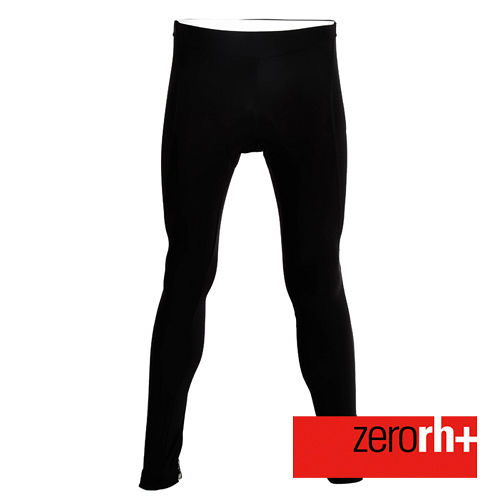 ZERORH 義大利 刷毛保暖自行車褲^(女^)~黑白款 ICD0074