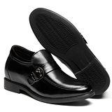 GOG高哥隱形增高鞋春秋系列93986軟面邊扣增高6.5cm(2013-12)