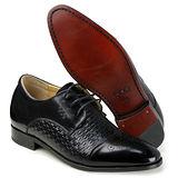 GOG高哥隱形增高鞋春秋系列99911全皮經典紳士增高6.5cm(2013-12)